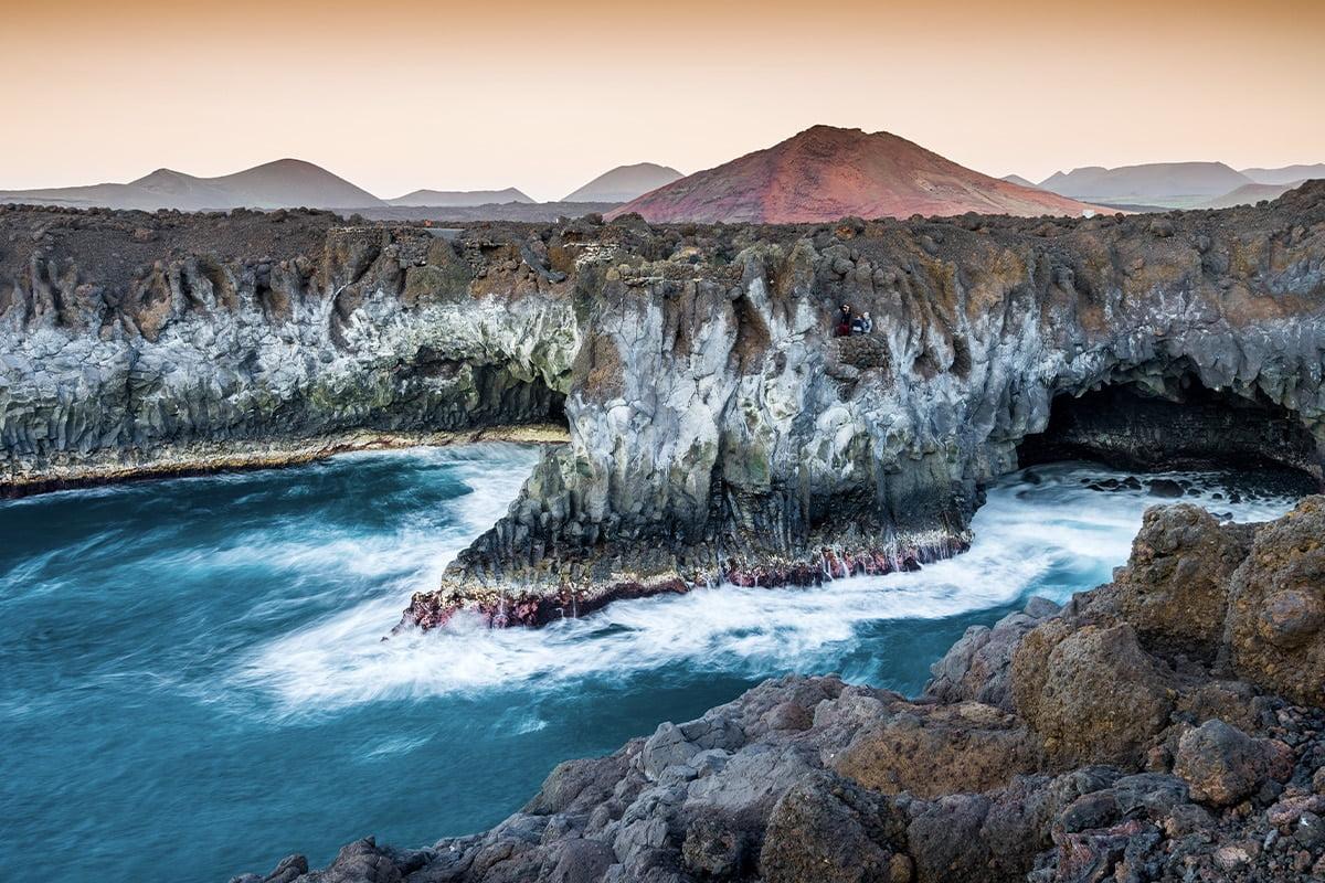 Punkty widokowe na Lanzarote - Los Hervideros