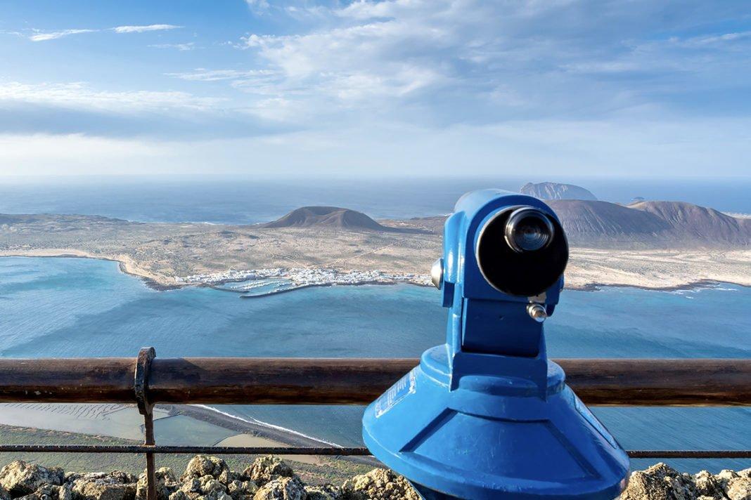 Mirador del Rio - Najbardziej romantyczny punkt widokowy na Lanzarote