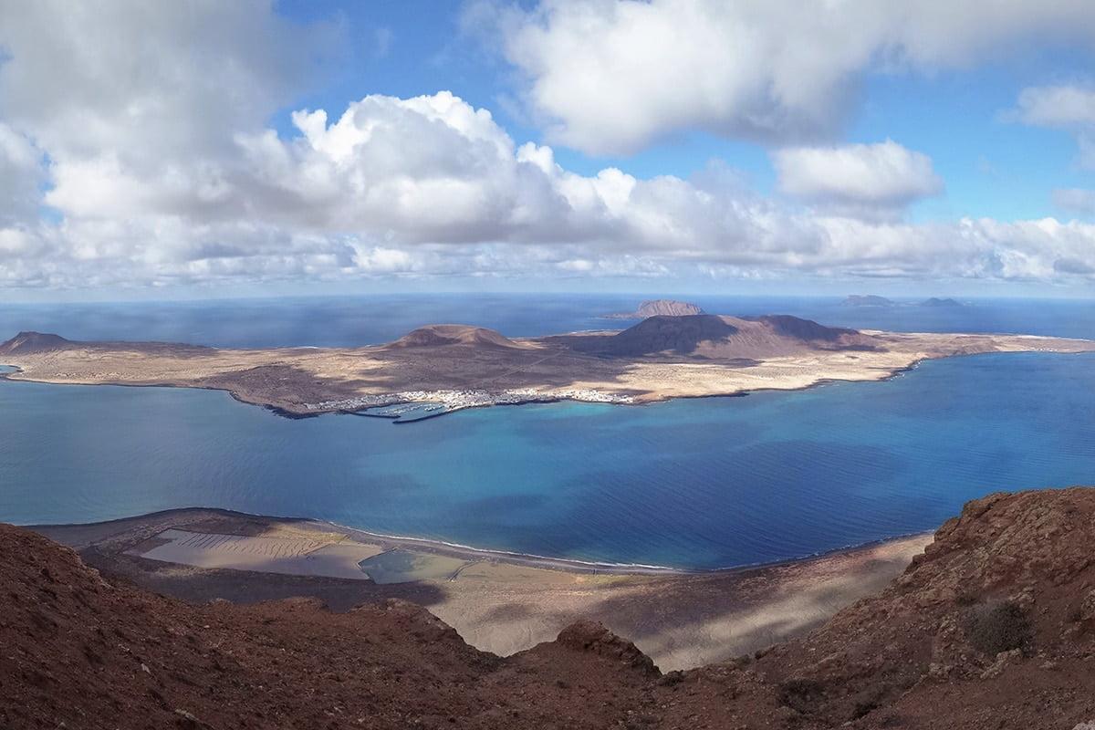 Mirador del Rio - Widok na wyspę La Graciosa