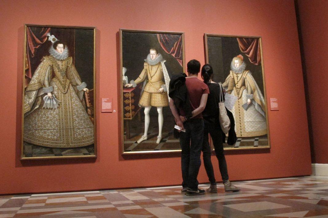 Wnętrze Museo Nacional Centro de Arte Reina Sofía w Madrycie