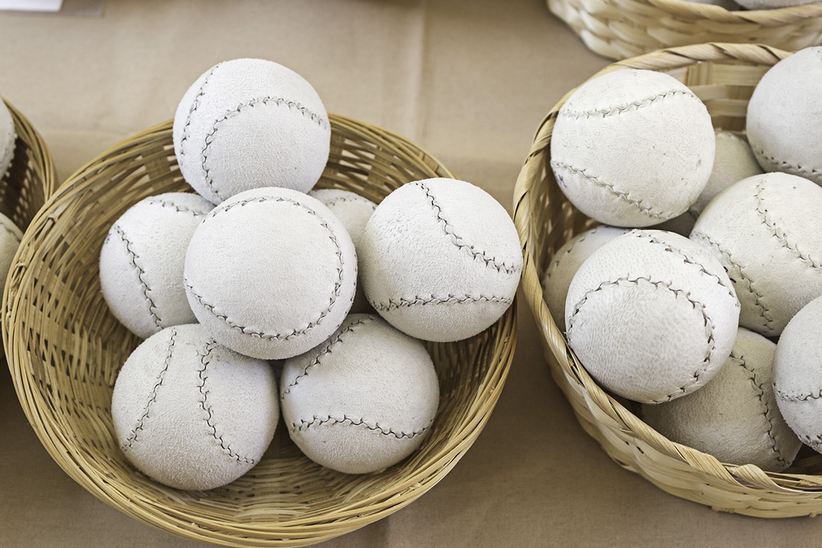 Pelota - Piłki do baskijskiej peloty.