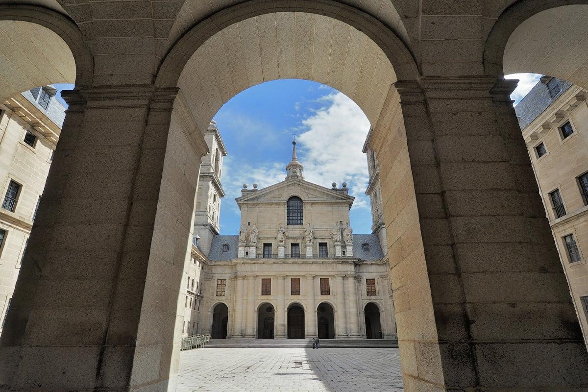Wnętrze Klasztoru El Escorial