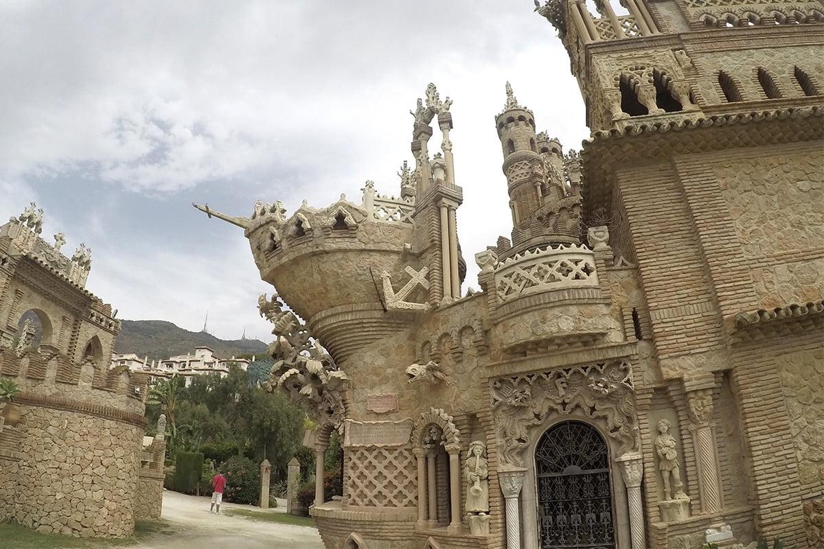 Castillo de Colomares - Największy pomnik Krzysztofa Kolumba na świecie