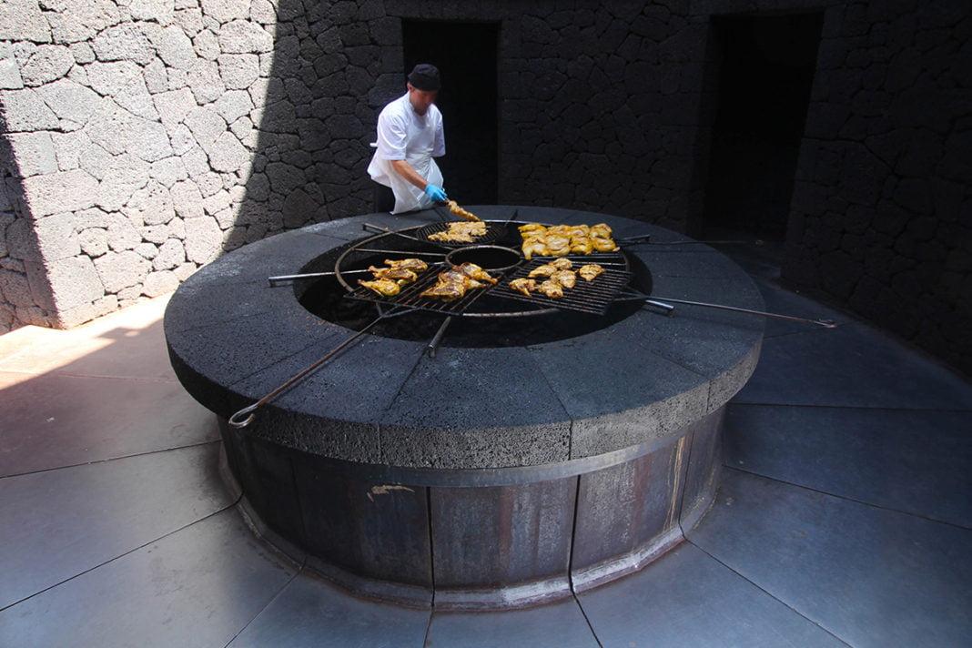 Restauracja El Diablo na Lanzarote