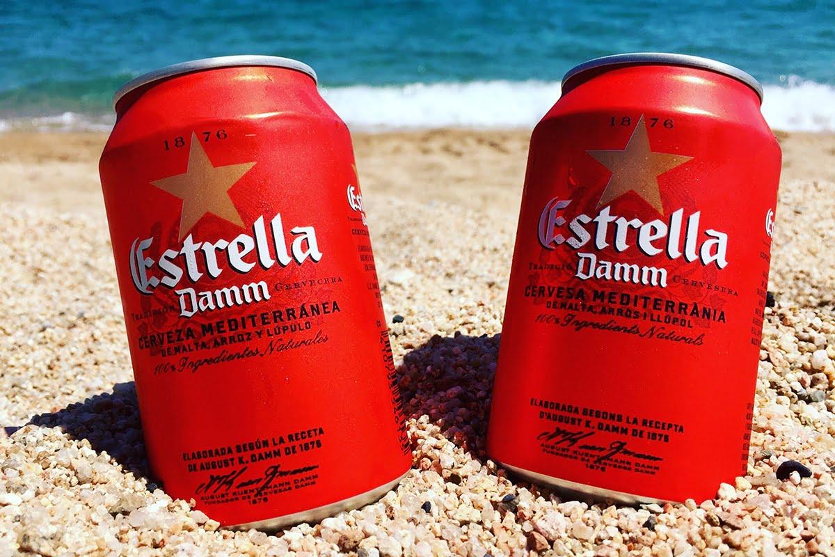 Estrella Damm to najpopularniejsze piwo w Katalonii