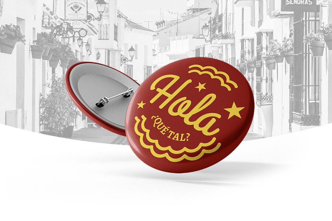 Hiszpańskie Przypinki dostępne na sztuki