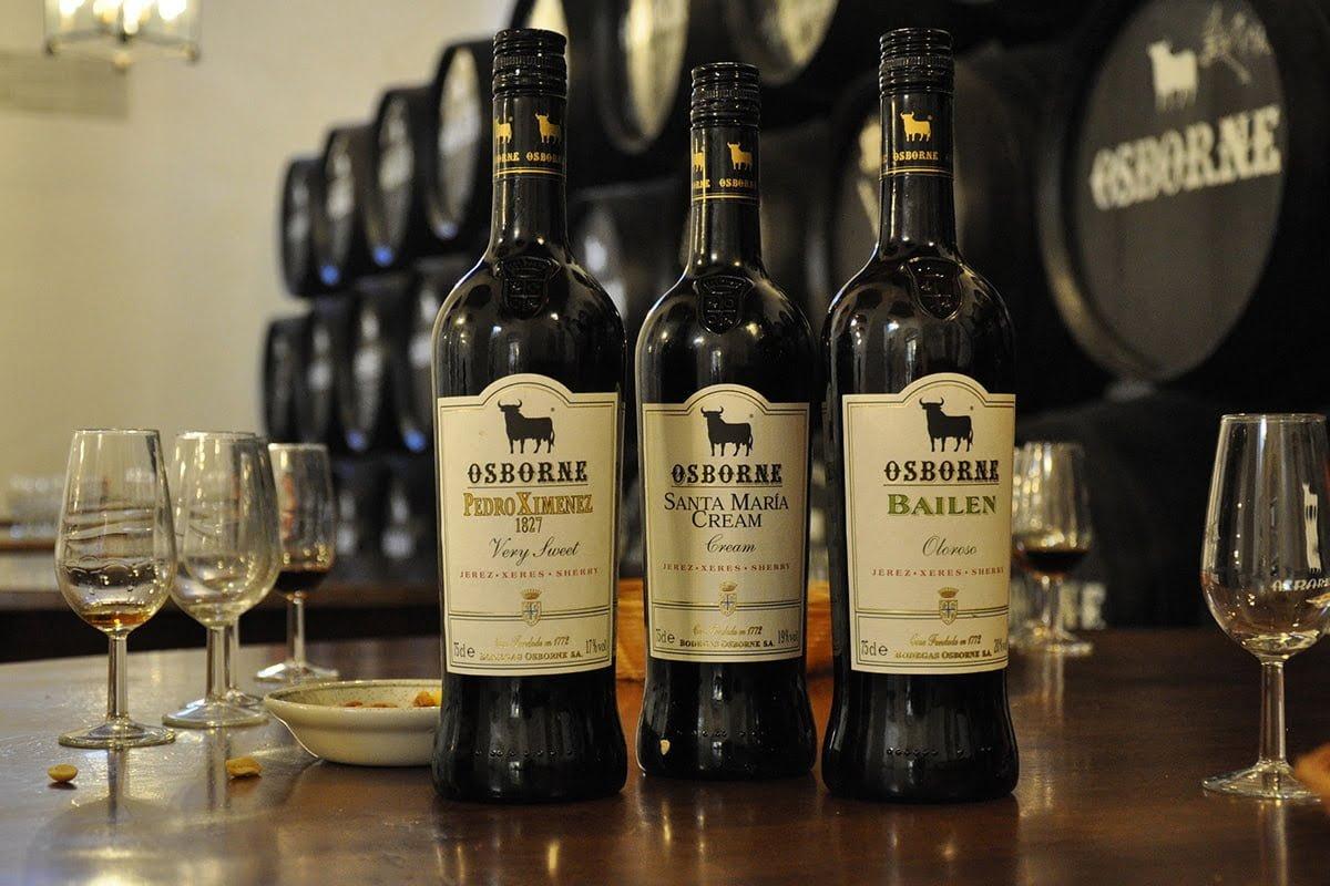 Sherry z Jerez de la Frontera