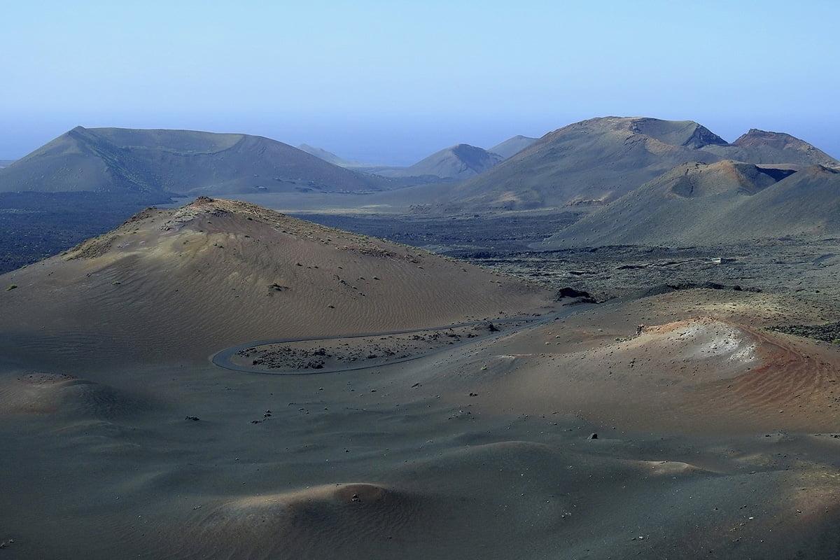 Najlepsze punkty widokowe na Lanzarote - Park Narodowy Timanfaya