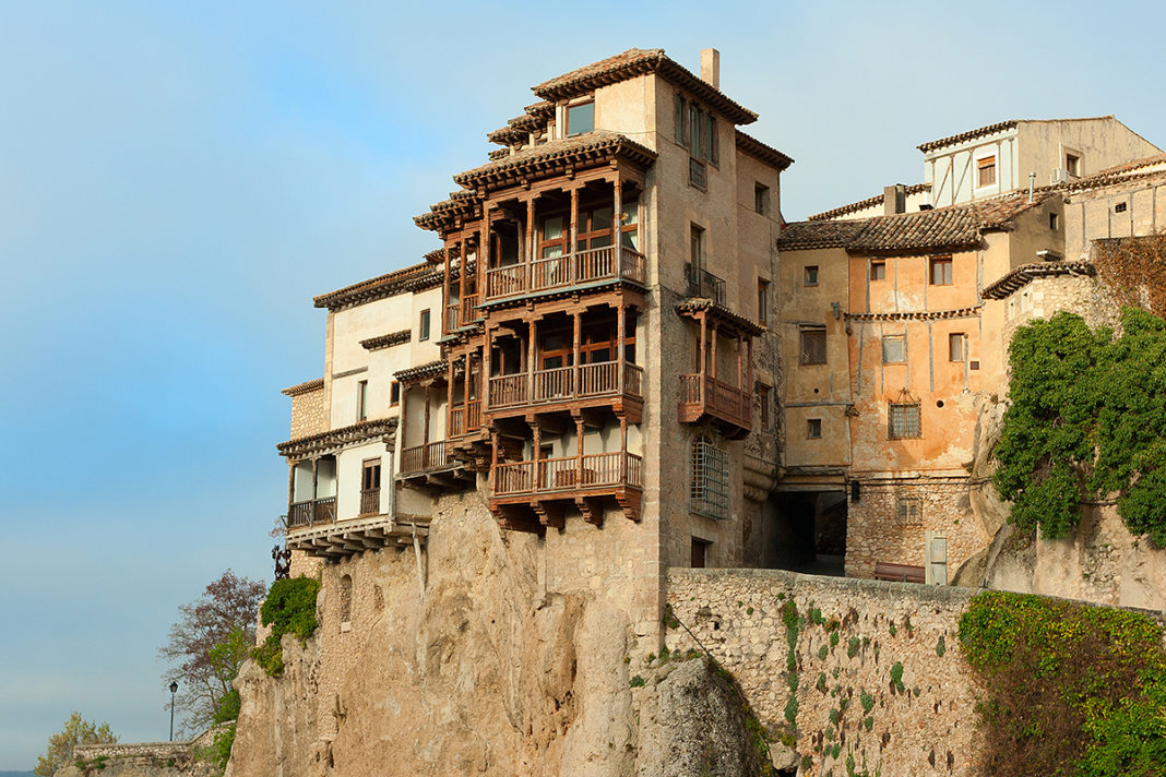 Cuenca i słynne wiszące domy (Casas Colgadas de Cuenca)