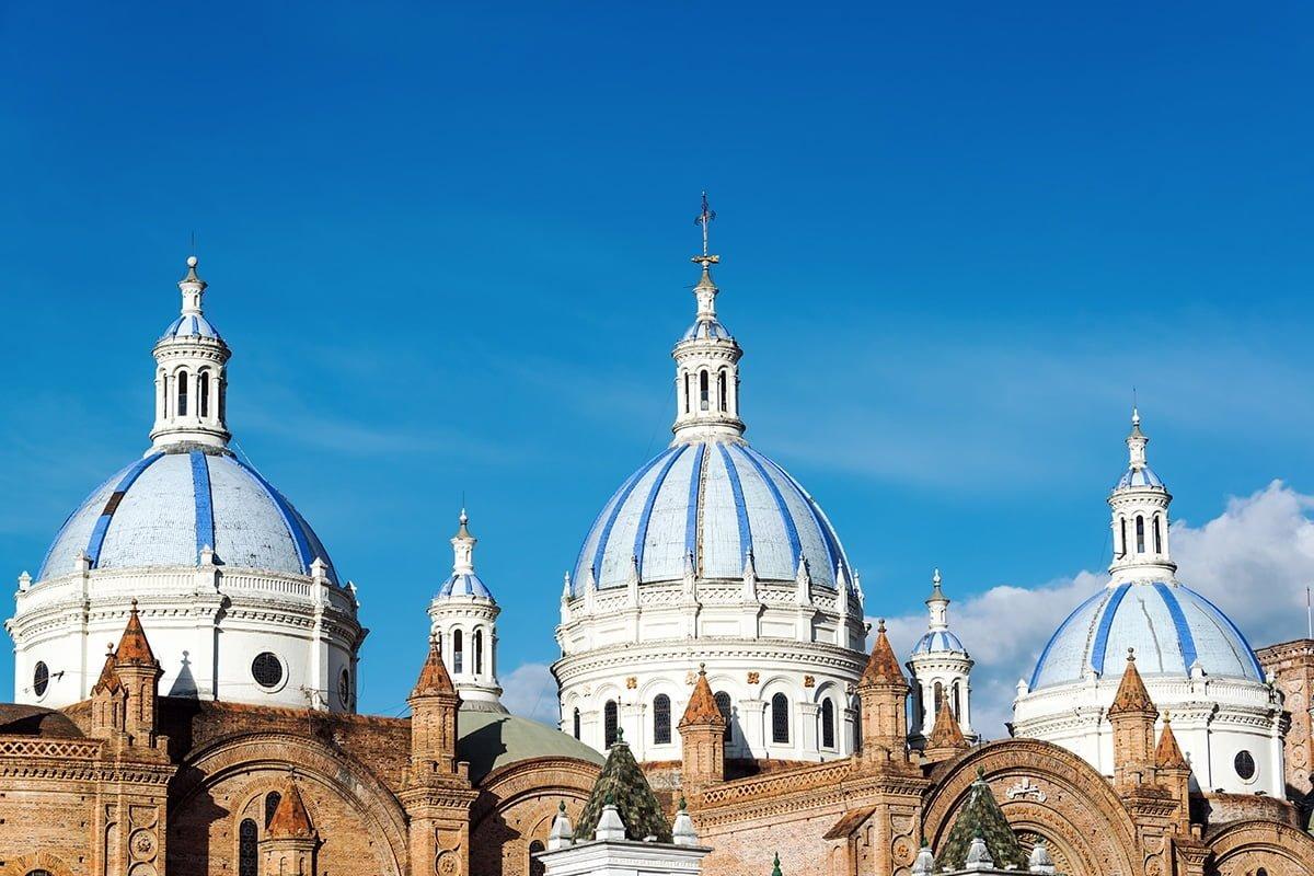 Kopuła katedry w Cuenca