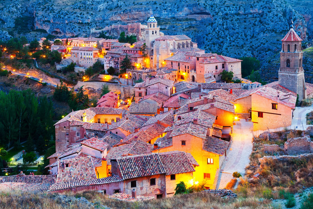 Albarracín - Malownicze miasteczko w Aragonii